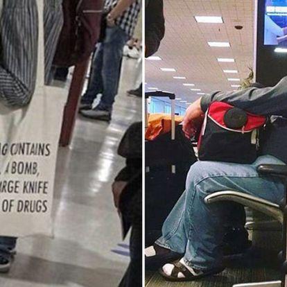 A 8 legmegdöbbentőbb dolog, amit valaha a reptéren csináltak