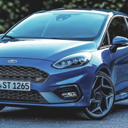 A magasra tett mérce – Ford Fiesta ST (2018) teszt