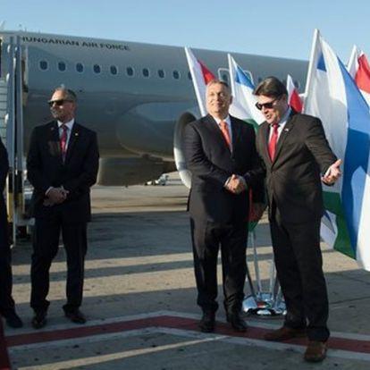 Orbán Viktor megérkezett Jeruzsálemben