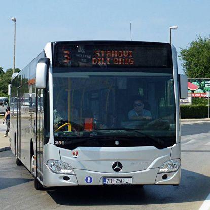 Helyközi közlekedés horvát szomszéunknál + helyi közlekedés Zadarban