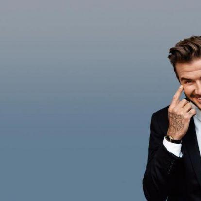 Ismerd meg Beckhamet, a tulajt