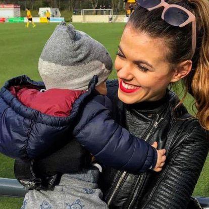 Ennél meghatóbb képet még nem posztolt Csobot Adél: így szereti egymást anya és fia