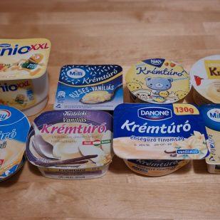 Teszt! A vaníliás krémtúrók többségéből épp a vanília hiányzik