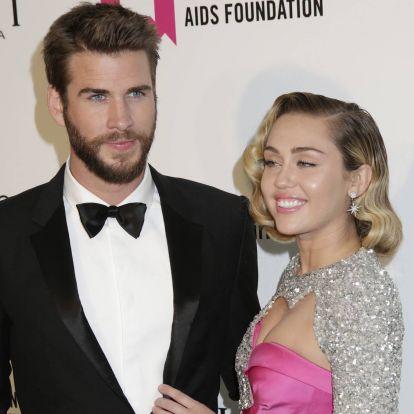Liam Hemsworth és Miley Cyrus válásának híre tényleg csak műsor volt