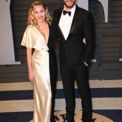 Miley Cyrus és vőlegénye cáfolják a szakítást