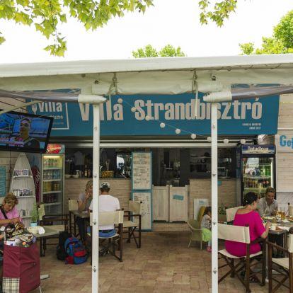 Villa Strandbisztró opens in Balatonlelle