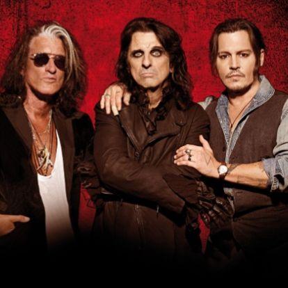 Így néz ki belülről a a Hollywood Vampires aktuális turnéja!   Rockbook.hu