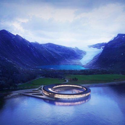 Hat futurisztikus luxushotel a nagyvilágból