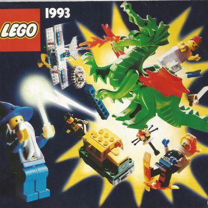 Nagyméretű magyar Lego katalógus 93-ból