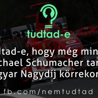 Tudtad-e, hogy még mindig Michael Schumacher tartja a Magyar Nagydíj körrekordját?