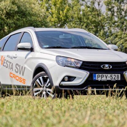 Meglovagolja a trendeket – Lada Vesta SW Cross 1.6 teszt