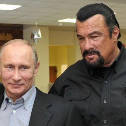 Moszkva és Washington közötti közvetítőnek nevezték ki Steven Seagalt