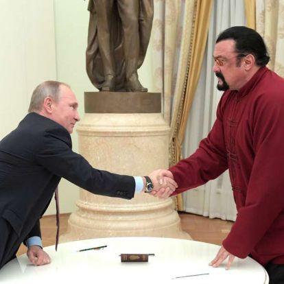 Putyin ügynöke lett Steven Seagal