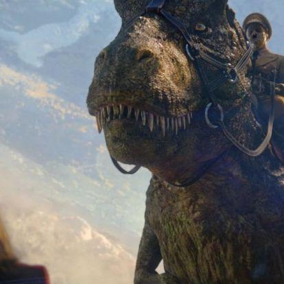 Előjönnek a föld alól a náci dinoszauruszok