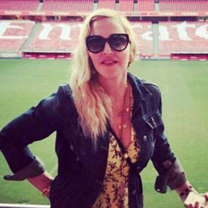 Madonna búcsút intett Amerikának