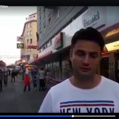 Márki-Zay Péter Bécsben bizonyította, hogy műkedvelő, amatőr videós