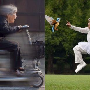 Hihetetlenül vicces képekkel van tele egy 90 éves nagyi Instagramja, aki még mindig élvezi az életet