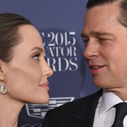 Brad Pitt durván kiakadt Angelina Jolie-ra