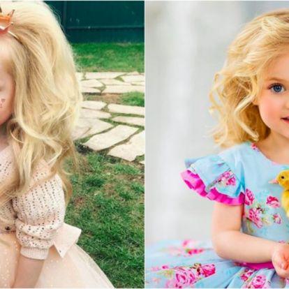 Ez a kislány úgy él, mint egy igazi hercegnő