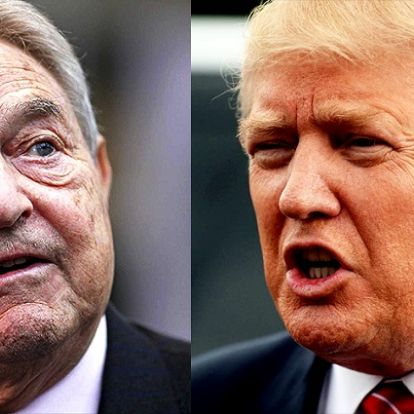 Soros szerint Trump egy szélhámos