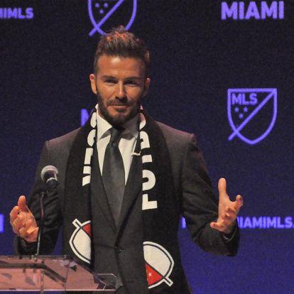 Rózsaszín, fekete – ilyen lesz Beckham csapatának logója? – KÉP