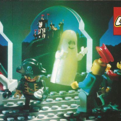 Európai Lego katalógus 1990-ből