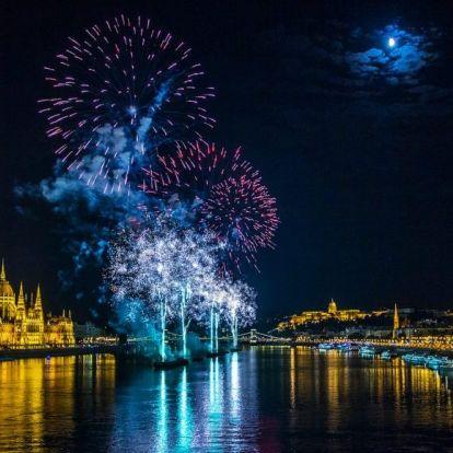 Lemaradtál róla, visszanéznéd? Videón a teljes budapesti tűzijáték