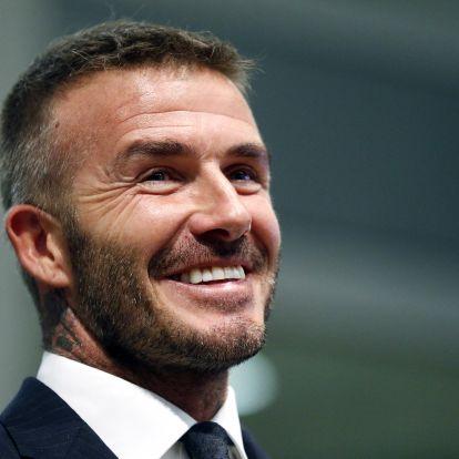 David Beckham rangos elismerésben részesül