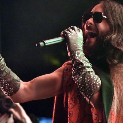 Jared Leto tánca láttán megbánja, ha kihagyta a 30 Seconds To Mars koncertet