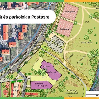 Szentendrén irodaparkot építenének a Duna-partra a kaszinó helyére, helyi civilek tiltakoznak
