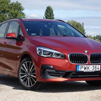 Tiszta sportterű – BMW 220i Active Tourer (2018) teszt