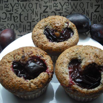 Szilvásgombóc mákkal - helyett mákos szilvás muffin