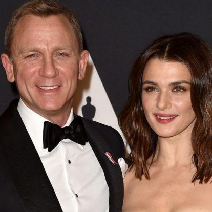 Megszületett Rachel Weisz és Daniel Craig közös gyereke