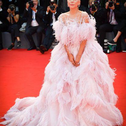 Lady Gaga hihetetlen ruháját nehéz lesz túlszárnyalni