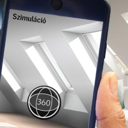 Tetőtér tervezés mobilon
