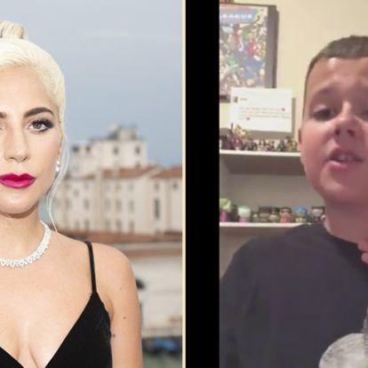 Imádja a net a 11 éves kisfiút, aki Lady Gagát utánozta