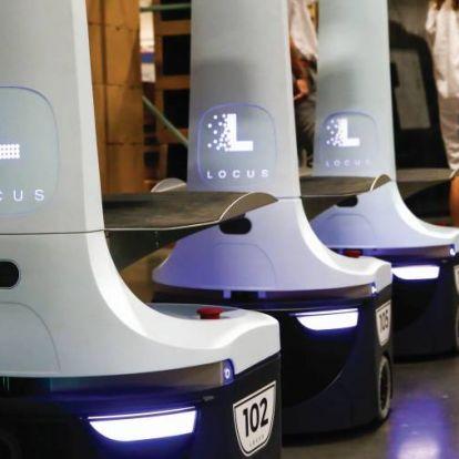 Robotok az okosraktárban