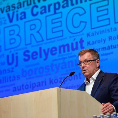 Matolcsy György: Rajta vagyunk a pályán
