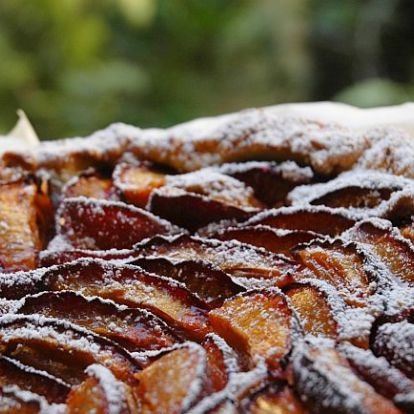 Szilvás frangipane pite