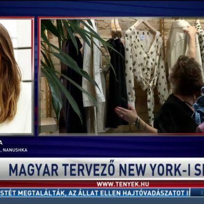 Magyar tervező New York-i sikere