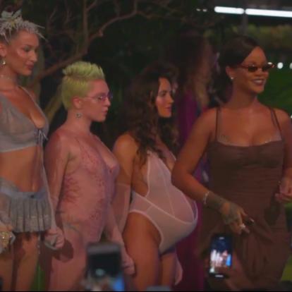 Rihanna New York-i divatbemutatójánál régen láttunk őrültebbet – de fontosabbat se sokat   Marie Claire