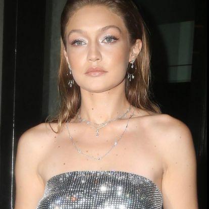 Gigi Hadid diszkógömbnek öltözött   Marie Claire