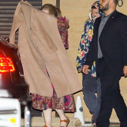 Ember úgy nem rejtőzködik, ahogy Adele próbál a fotósok elől