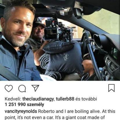 Ryan Reynolds olyan jó pasi, hogy még David Beckham is leállt vele flörtölni