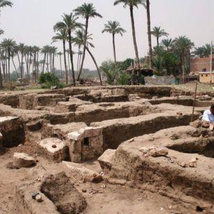 Óriási ókori épületet találtak Egyiptomban
