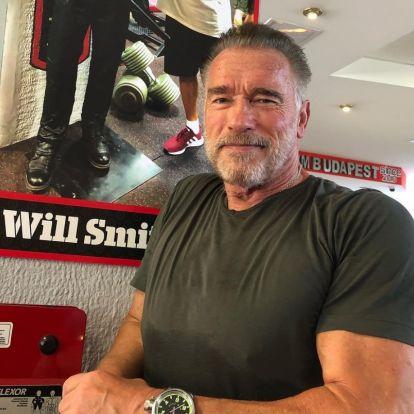 Arnold Schwarzenegger megható fotóval üzent régi barátjának