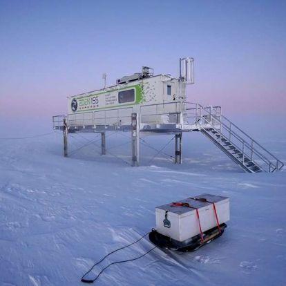 Matt Damon elégedetten csettintene az antarktiszi uborkára