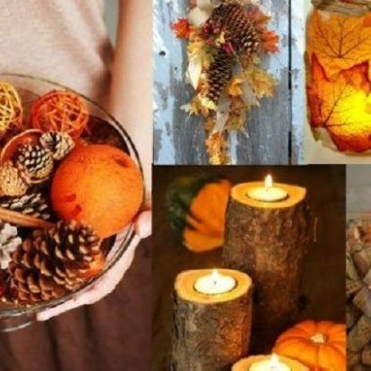 Káprázatos őszi dekorációk 0 forintból!