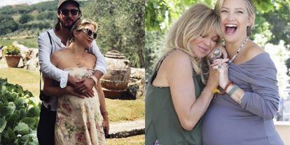 Először mutatta meg újszülött babáját Kate Hudson! A tündéri kislánynak múlt héten adott életet a 39 éves színésznő