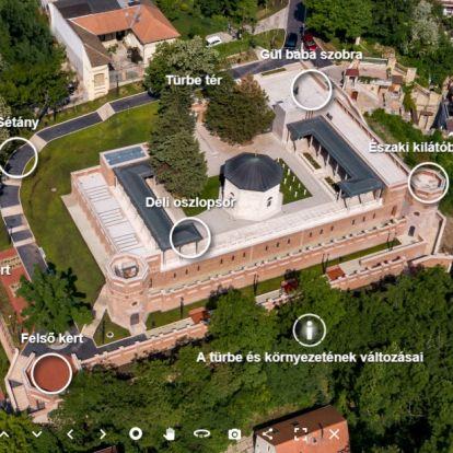 Átadták a felújított Gül Baba türbéjét Budán